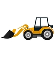 Construction vehicle Machinary graphic design vector image vector image