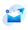 email and messaging design isolated vector image vector image