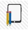 gadget design technology icon Colorfull vector image vector image