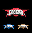 sport retro lettering oo emblem legend t-shirt vector image