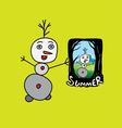 Summer Memory vector image