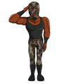 wrestler Military vector image vector image