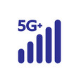 5g symbol 5g internet new technology network vector image vector image