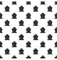 beekeeper pattern seamless vector image vector image