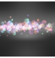 Defocused christmas lights background EPS 10 vector image vector image