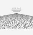 digital surface vector image