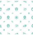 earth icons pattern seamless white background vector image vector image