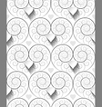fractal-spiral seamless pattern vector image vector image