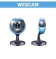 Webcam Realistic Design vector image