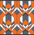 abstract art deco color seamless pattern vector image vector image