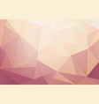 abstract pink and purple geometric background vector image vector image