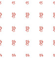 angel icon pattern seamless white background vector image vector image