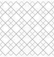 black and white abstract seamless square pattern vector image vector image