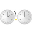 clock change vector image