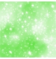 Glittery green Christmas background EPS 8 vector image vector image