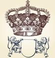 Royal symbol vector image