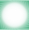 geometric swirl background from twisted rays vector image vector image