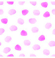 pink magenta rose pastel watercolor polka dot vector image