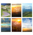 positive quotes better together to travel vector image