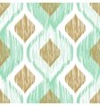 Seamless pattern Ikat ethnic background in vector image vector image