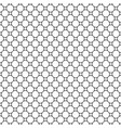 seamless pattern simple geometric ornament vector image vector image