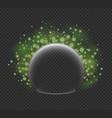 virus shield vector image