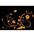 abstract beautiful flower vector image vector image