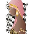 Beautiful amazon woman vector image vector image