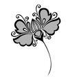 Beautiful Decorative Flower vector image vector image