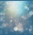 blue festive christmas elegant abstract background vector image