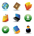 E-business icons vector | Price: 1 Credit (USD $1)
