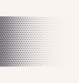 monochrome halftone gradient with crosses vector image vector image