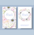 peont anemone banners vector image vector image