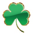 Shamrock or clover icon vector image vector image