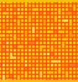 technology squares or pixel and rectangle pattern vector image vector image