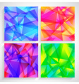 Fractal Abstract Background set of fractal vector image