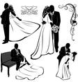 Wedding Pairs vector image
