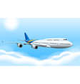 Commerical aircraft vector image vector image