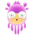 jelly monster vector image vector image
