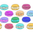 seamless texture with a drawing of multicolored vector image vector image