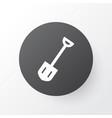 shovel icon symbol premium quality isolated spade vector image