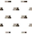 square metal tubes pattern flat vector image