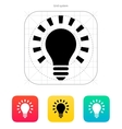 More light icon vector image