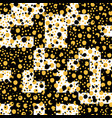 asymmetrical seamless art camouflage design vector image