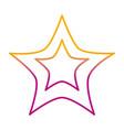 degraded line light star art sky design vector image