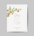 elegant merry christmas and new year 2021 cards vector image vector image