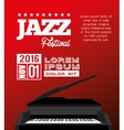 festival jazz celebration music desing vector image