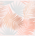 tropical seamless pattern with gradient dotted vector image vector image