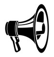 voice speaker icon simple style vector image vector image