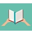 Book literature for reading design vector image